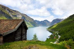 Старая ферма в Норвегии