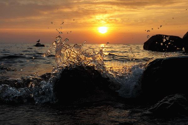 Ладога, восход