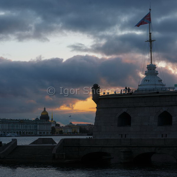 Скупой Питерский закат