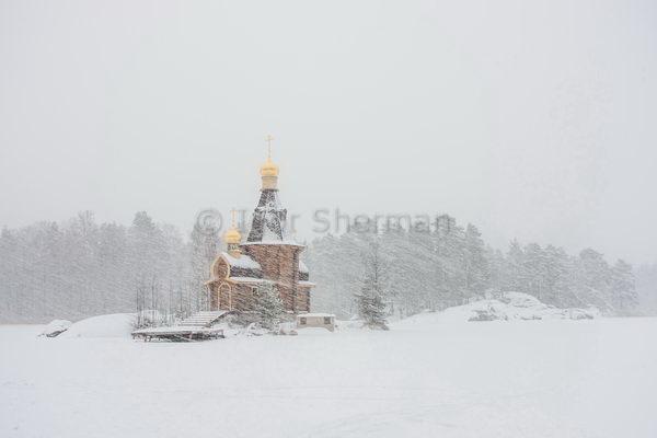Противостояние. Снежная буря на реке Вуокса